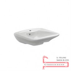 Ergonomisk vask m/o.l