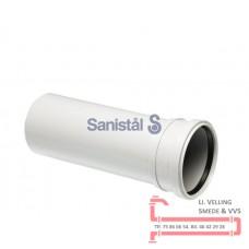 Afløbsrør m/mf 50mm 0,5 (1 meter)
